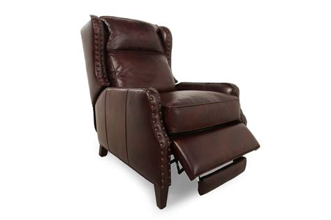 henredon leather recliner henredon leather recliner mathis brothers furniture