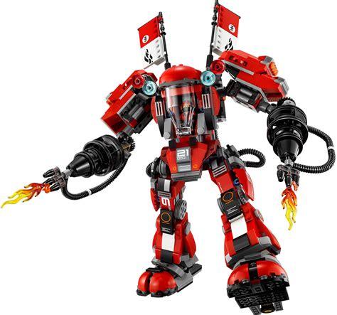 film robot ninjago lego the lego ninjago movie 70615 fire mech mattonito