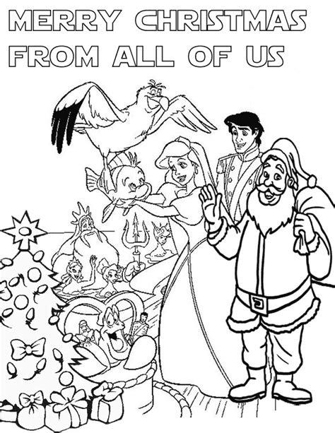 princess holiday coloring pages disney princess christmas coloring page h m coloring pages