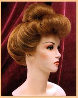 Period Wigs: 1900's Women's