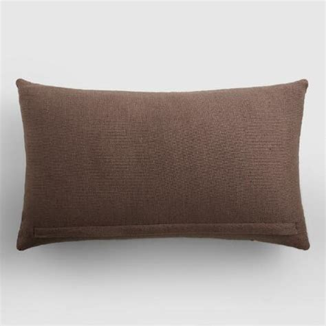World Market Pillows Sale by Java Multicolor Embroidered Indoor Outdoor Lumbar Pillow