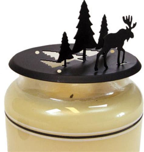 Candle Toppers by Moose Pine Candle Jar Topper