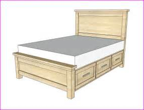 size bed frame storage size bed frame with storage plans home design ideas