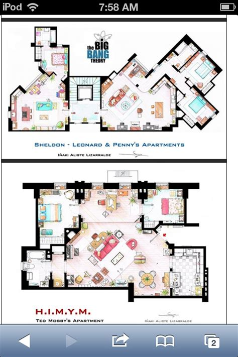 floor plans of tv show houses tv show house plans