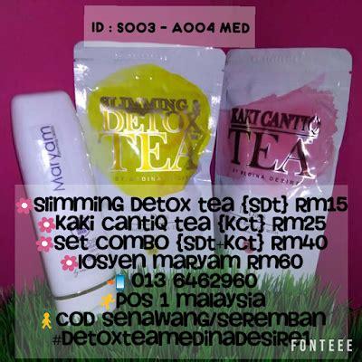 Rasa Detox Slim by Set Combo Detox Tea Medina Desire Sour