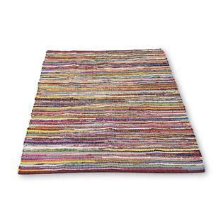 40 X 60 Area Rug 60 X 40 Quot Reversible Rag Rug Multicolored