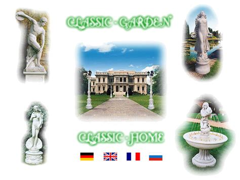 classic garden home page