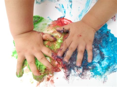 baby painting free baby paint recipes activities growing a jeweled