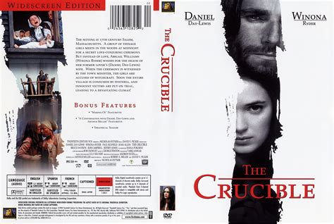 with dvd the crucible 1996 ws r1 dvd cd label dvd