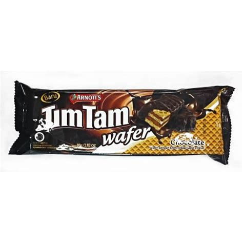 tim tam wafer vanilla 15 5 gr tim tam wafer chocolate