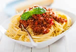 image de spaghetti bolognaise