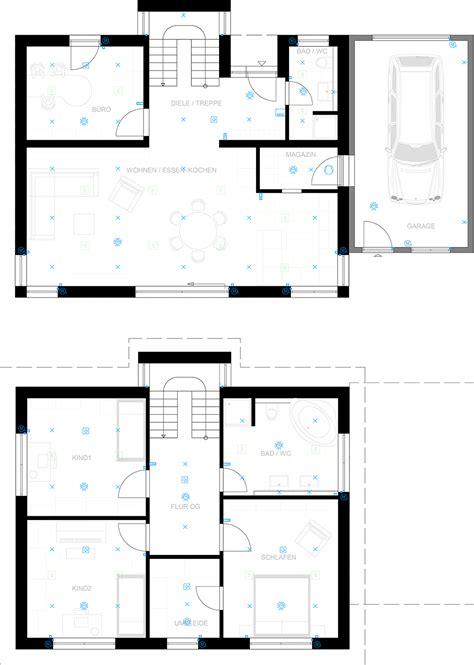 Bussystem Einfamilienhaus by Sclan Das Bussystem Haussteuerung Und Home Automation