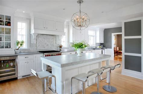 Colonial Kitchen Design by Connected Open Kitchen Design In A Colonial Style