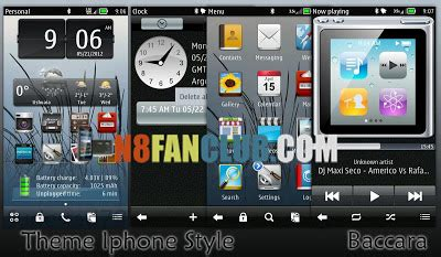 themes hd belle iphone style belle theme by baccara with hd wallpapers and