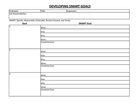Pictures Goal Setting Template Excel Smart Goals Worksheet Newpcairport Pdf Personal Sheet Goal Setting Template Excel