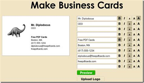 make business cards at home make free business cards