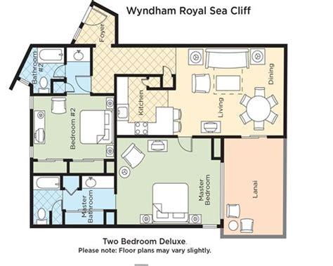 wyndham kona hawaiian resort floor plan wyndham royal sea cliff armed forces vacation club