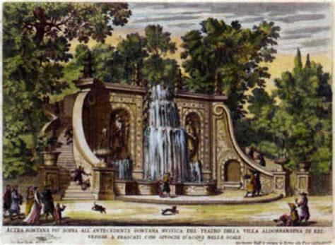 i giardini di roma le fontane ne palazzi e ne giardini di roma con li loro