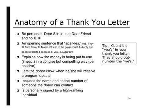 Handwritten Thank You Note For Donation Diane Remin Raise More Money By Keeping Your Donors