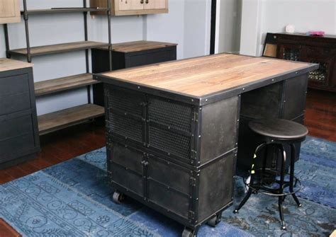 Industrial Kitchen Furniture Vintage Industrial Style Furniture Industrial Style Desk For Office Home Design