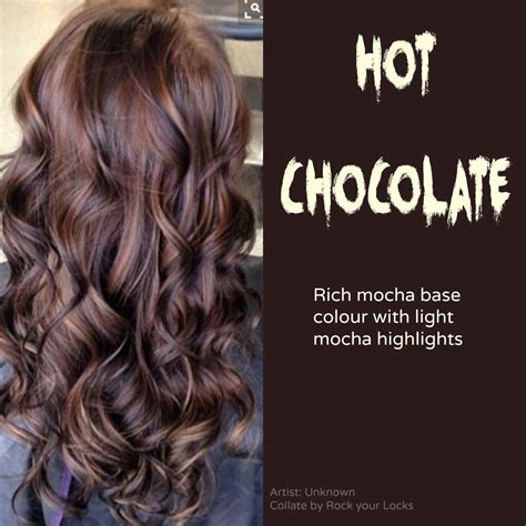 hot toffee highlights hot chocolate hair color usually i like ash browns more