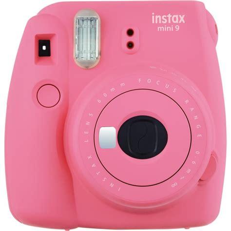 Fuji Instax Mini 9 Instant Camera   Flamingo Pink   10 Shots