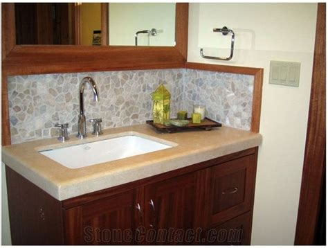 bathroom vanity backsplash ideas 81 best images about bath backsplash ideas on