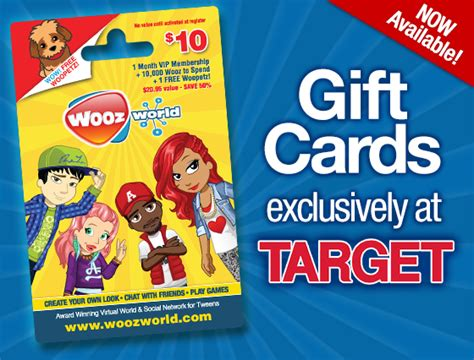 Free Woozworld Gift Card Codes - woozworld gift card images