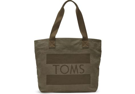 olive toms flag transport tote bag toms 174