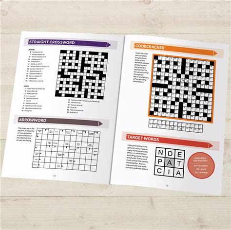 comfort crossword personalized puzzle book
