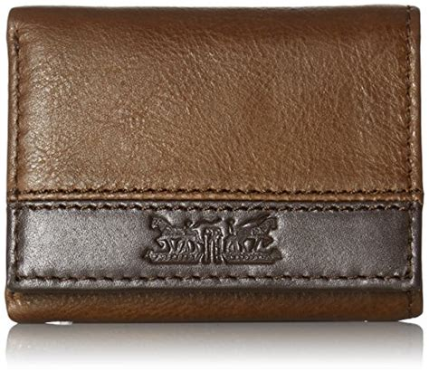 Levis Handcrafted - levi s s 100 handcrafted genuine leather trifold