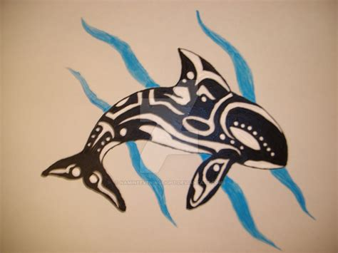 tribal whale tattoo tribal orca www imgkid the image kid has it