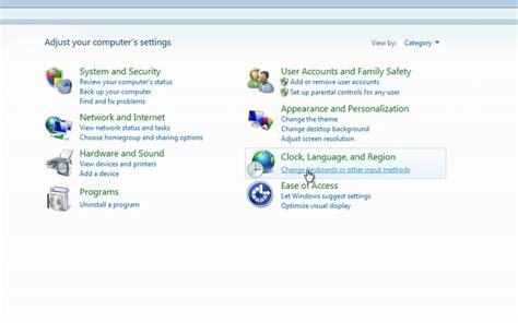 change keyboard layout login windows 7 how to change your default keyboard settings in windows 7