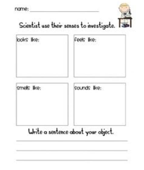 printable science observation journal science observation sheet science pinterest science