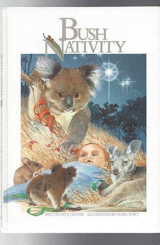 koala nativity bush nativity jo monie illusustrated by marg towt australian hc koalas kangaroos