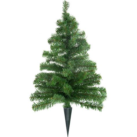 18 quot small christmas tree on stake xt4641 craftoutlet com