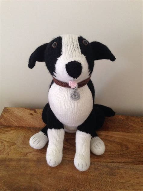 knitting pattern toy dog free collie dog alan dart pattern alan dart pinterest