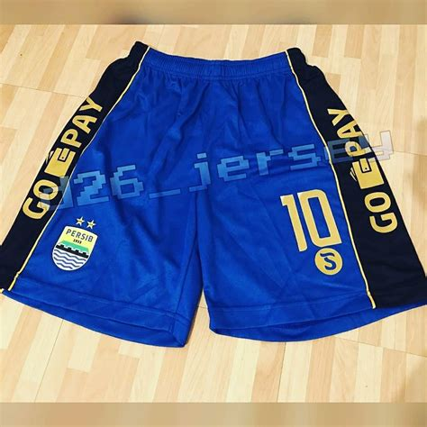 Jersey Sepakbola Futsal Persib Premium jual celana bola persib bandung home liga 1 2017 official