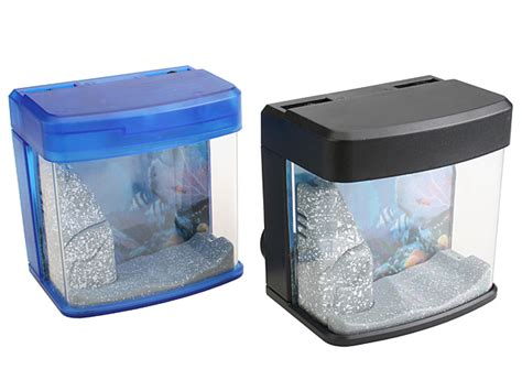 Lu Led Aquarium Mini usb mini aquarium with blue led