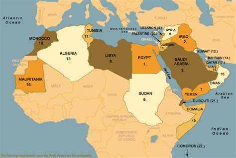 map arab arab league map us iraq war procon org