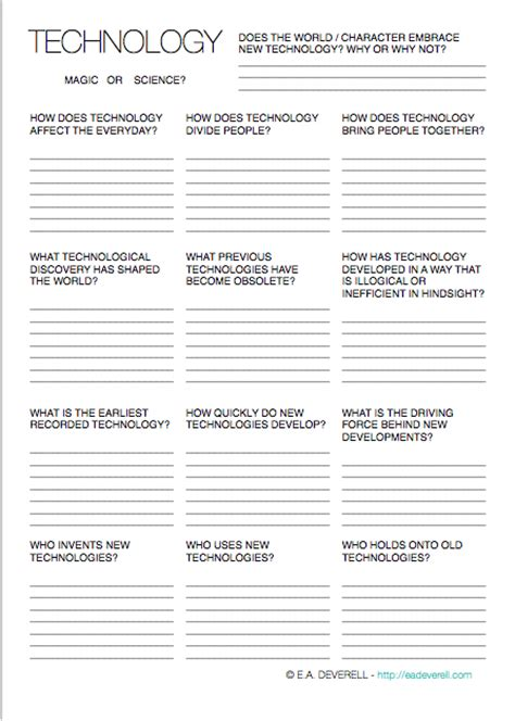 Middle School Technology Worksheets by Technology Writing Worksheet Wednesday