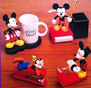 mickey mouse desk accessories amazon com disney mickey mouse 4 desk collection w
