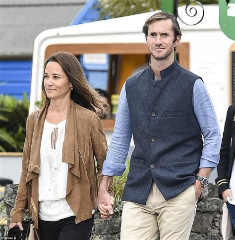 Pippa Middleton Husband | pippa middleton strolls through irish village with husband daily mail online