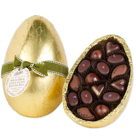 bettys milk chocolate easter egg with handmade chocolates