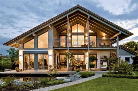 Fassade Modern 4950 by Fertighaus Aus Holz Und Glas Denvirdev Info