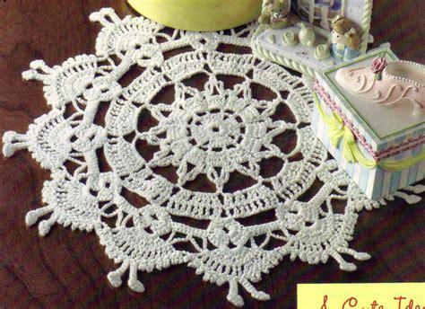 crochet pattern only sweet dancing dollies doily crochet pattern instructions