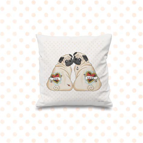 pug cushion covers pug cushion cover by pugyeah notonthehighstreet
