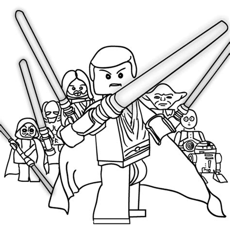 printable coloring pages wars printable lego coloring pages wars coloringstar