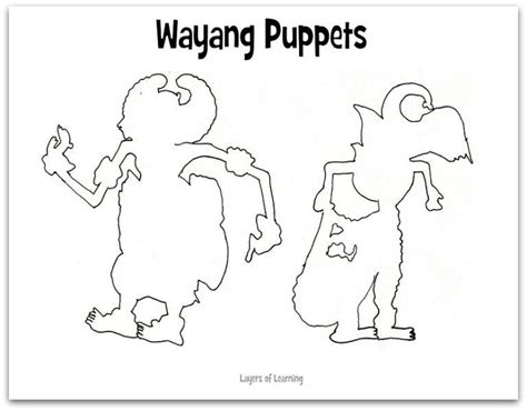 wayang puppets layers of learning