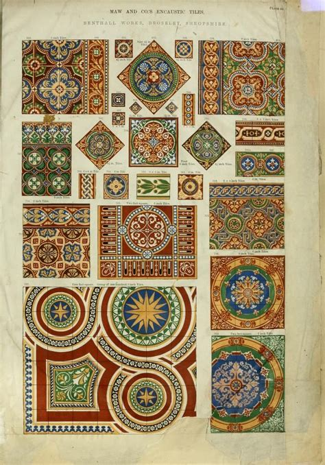 victorian pattern tiles 81 best images about old houses tiles fireplaces on